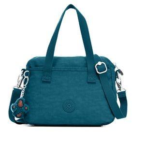 NWT Kipling Emoli Crossbody Bag Gleaming Green